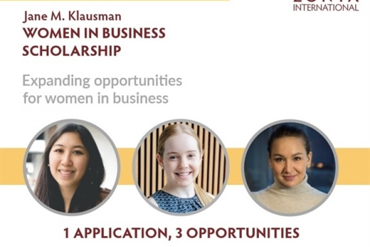 Jane M. Klausman - Women in Business Scholarship